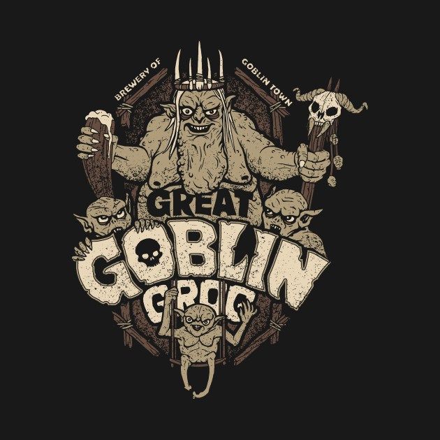 Grog del Gran Trasgo. Diseño de Cory Freeman | El Anillo Único