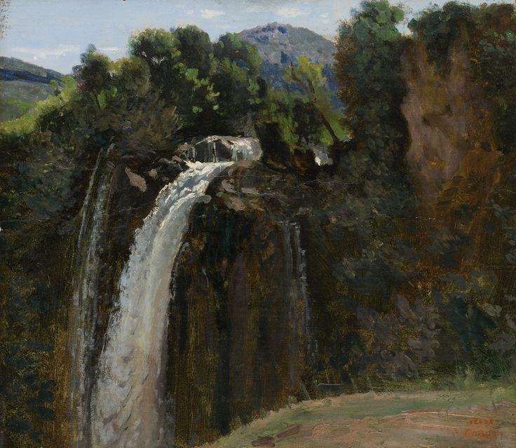 The Met.  The Barbizon School of French Painters. Waterfall at Terni.