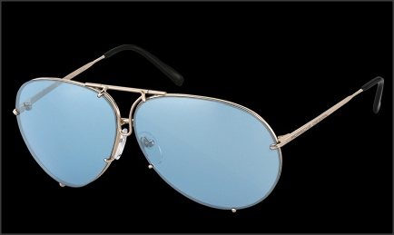 Sunglasses P'8478 Light Gold  Extraordinary design with UVA and UVB protection.