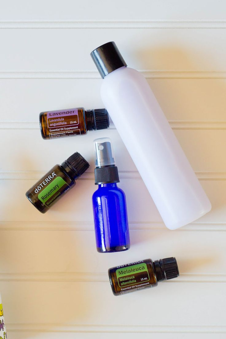 This simple DIY lice repellent doubles as a detangler for sensitive scalps. Keep this on hand and spray daily before school to keep lice at bay.