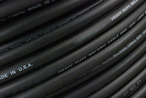 ICYMI: TEMCo 1 Gauge AWG Welding Lead & Car Battery Cable Copper Wire BLACK | MADE IN USA #DIY