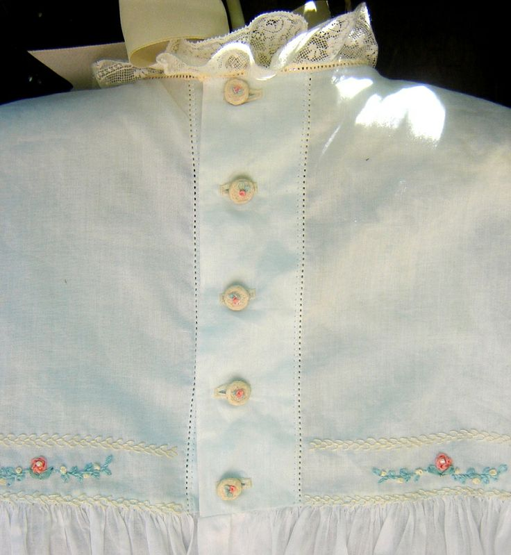 For perfect featherstitch...machine stitch a feather stitch pattern with no thread in machine. Holes are easily visible and give stitches perfect placement.