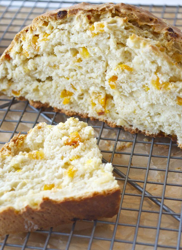 Apricot Orange Irish Soda Bread | Recipe | Soda Bread, Sodas and Irish