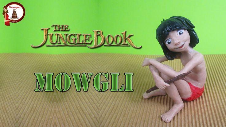 """Mowgli from """"The Jungle Book"""" out of fondant- Mowgli del """"Libro della Gi..."""