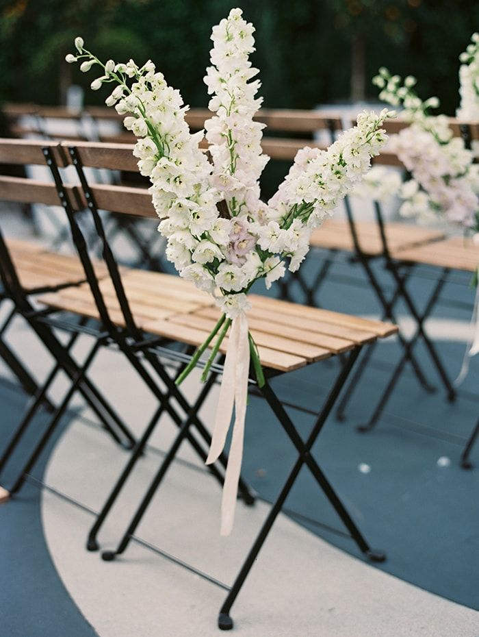 Romantic Outdoor Wedding with Unique Details