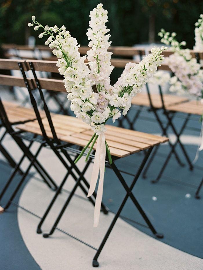 Romantic Outdoor Wedding with Unique Details