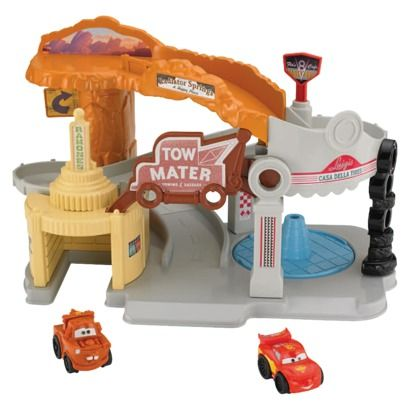 Fisher-Price® Little People Disney Cars Wheelies Playset