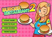 Burguer Restaurant 2   juegos de cocina - jugar online