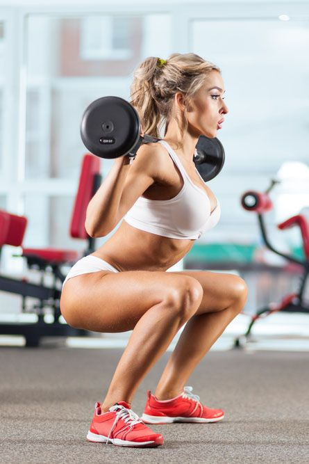 Get your squats on because here are 5 reasons why squats are so effective & will be your new favorite workout ... #detox