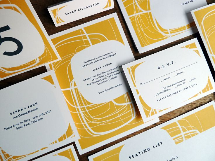 77 best Printable Wedding Invitation Sets images on Pinterest