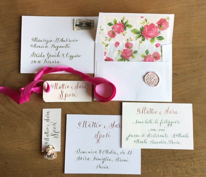 "Wedding Invitations ""Modern Color"""
