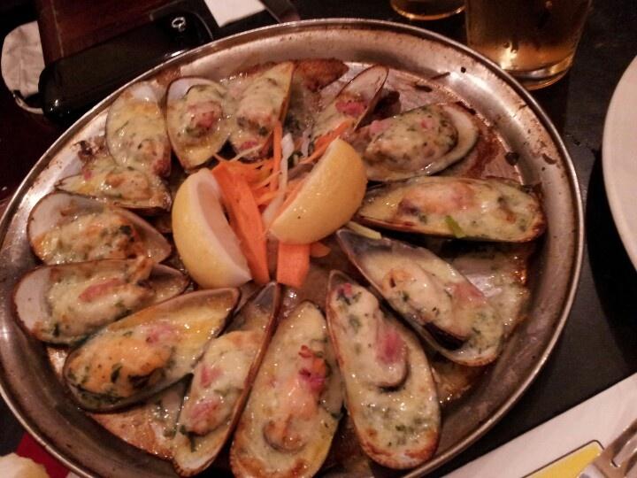 Mussels @ Belgium Beer cafe
