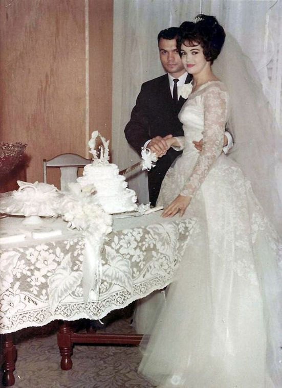 Typical -  A - Wedding day April 13, 1963