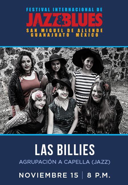 """DOBLE CONCIERTO 15 de NOVIEMBRE, 8 pm  """"LAS BILLIES"""" Y """"JENNY BEAUJEAN & BENJAMIN GARCÍA"""" en el  Festival Internacional de Jazz y Blues de San Miguel de Allende. Boletos #paypal http://www.sanmigueljazz.com.mx/boletos.html  @antoniolozoya_bass #producer  #paypal #bass #piano #music #jazz #blues  #guitar #saxophone #acapella #drums  #livemusic #singer #mexico  #guanajuato #festivalinternacionaldejazzybluessma #travelandleisure #travel #amaizing #experience #corazondemexico"""