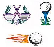 Golf Temporary Tattoos