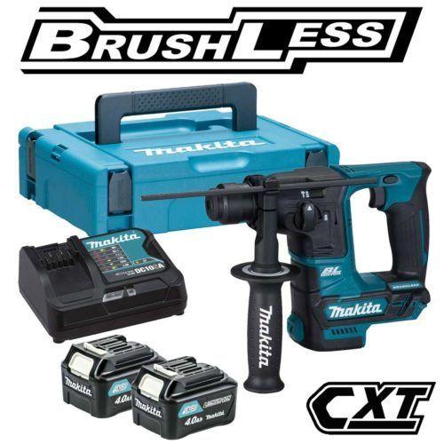 Makita HR166DSMJ CXT Brushless Rotary Hammer Kit2 x 4.0Ah, 500x500, power tools, power tools uk, power tool store, cheapest place for power tools