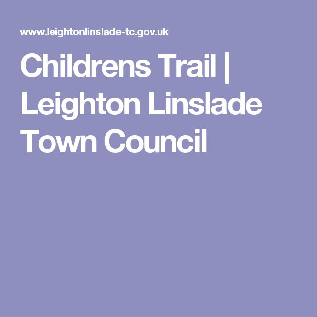 Childrens Trail | Leighton Linslade Town Council