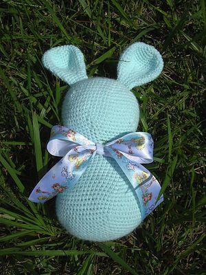 Mejores 279 imágenes de Bunny Rabbit Crochet Patterns en Pinterest ...