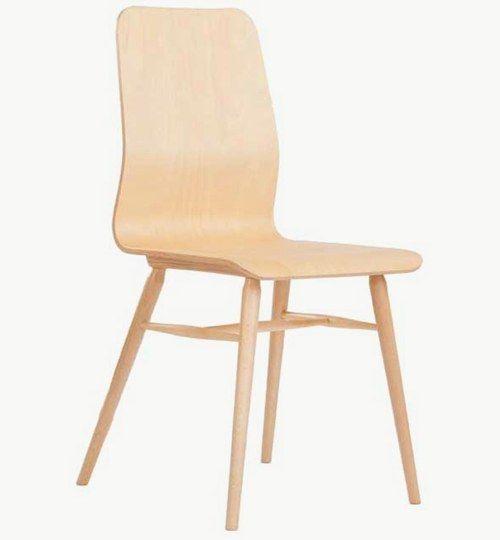 Modern designstol i trä, finns många olika färger att välja på. Vikt 4,2 kg. Säljs i 2pack (2st). Pris anges (1st). Levereras monterad.  Tyg Lido, 100 % polyester, brandklassad. Tyg Luxury, 100 % polyester, brandklassad. Konstläder Pisa, brandklassad, 88,5% PVC, 11,5% polyester.