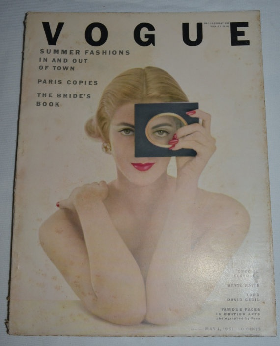Vintage VOGUE Original May 1951 Thick Fashion by whosyourdaddy71, $100.00