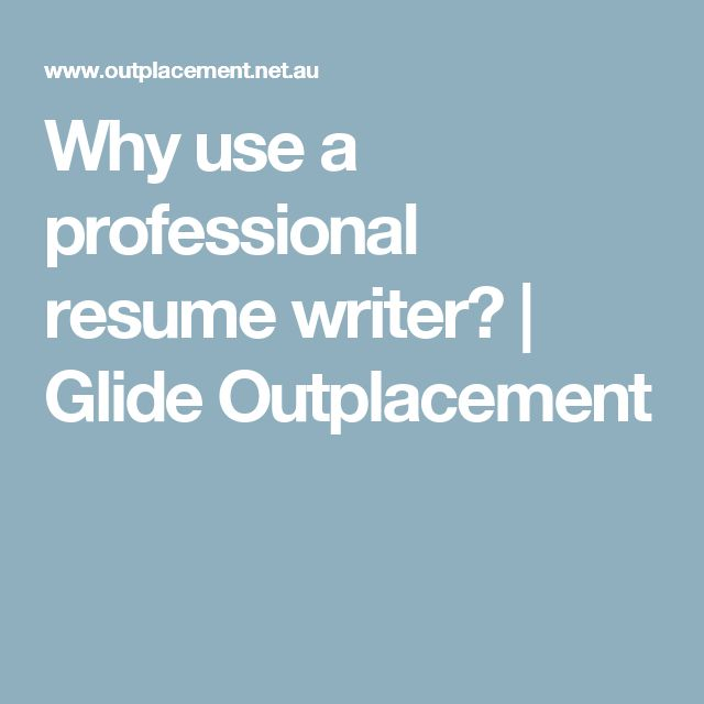why use a professional resume writer - Professional Resumes Writers
