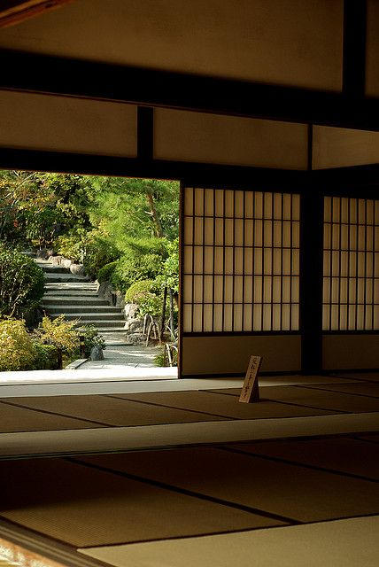 """We have learned so much from the Japanese - as classic as this image is in """"traditional"""" Japanese architecture...it is practically speaking, timeless."""