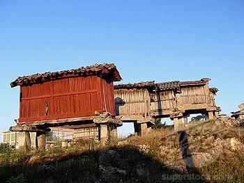 Horreos. Orense province, Galicia, Spain