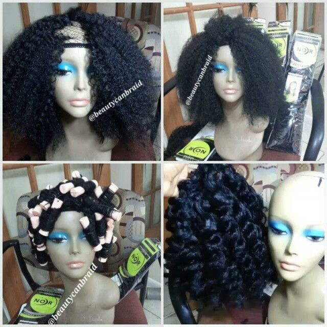Do it yourself crochet wig (natural look)
