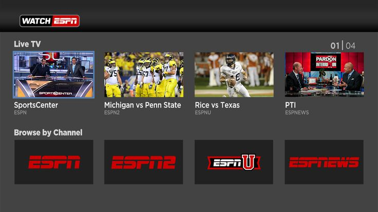Streaming live sports on the Roku platform Michigan vs