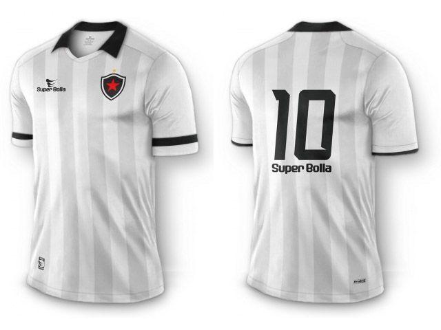 951d45f993 Camisas do Botafogo-PB 2015 Super Bolla