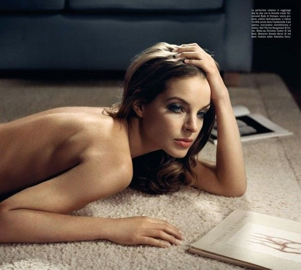 yvonne catterfeld vincent peters valentina serra vogue italia, beauty supplement, july 2012 5