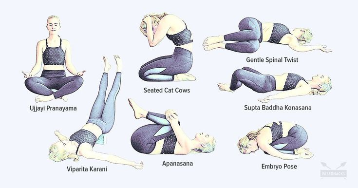 Share with a friend that suffers with #StomachPain #Yoga for #PainRelief #AmandaMarieYoga