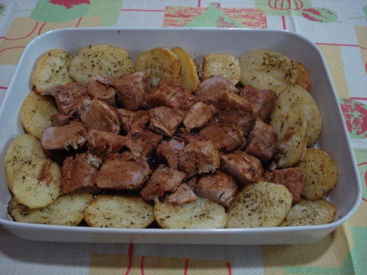 Imagem enviada por Edmilze Matheus Filé de Porco na manteiga e salasa