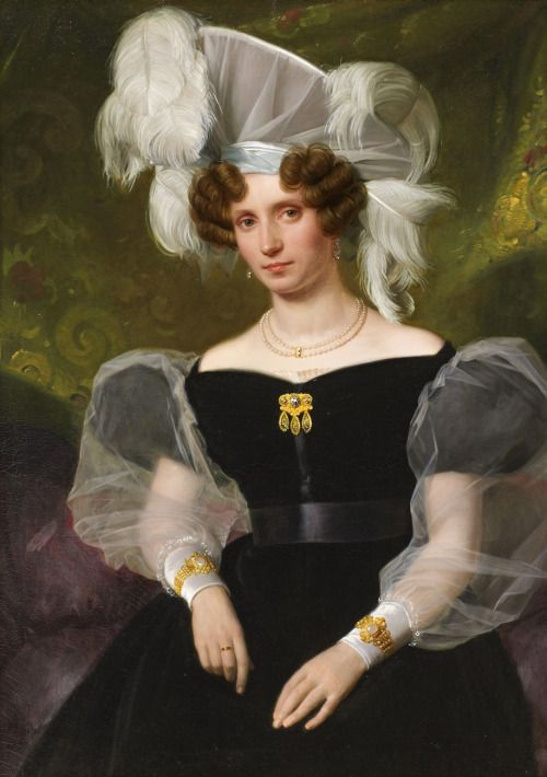 1830 August Riedel - Therese von Schenk