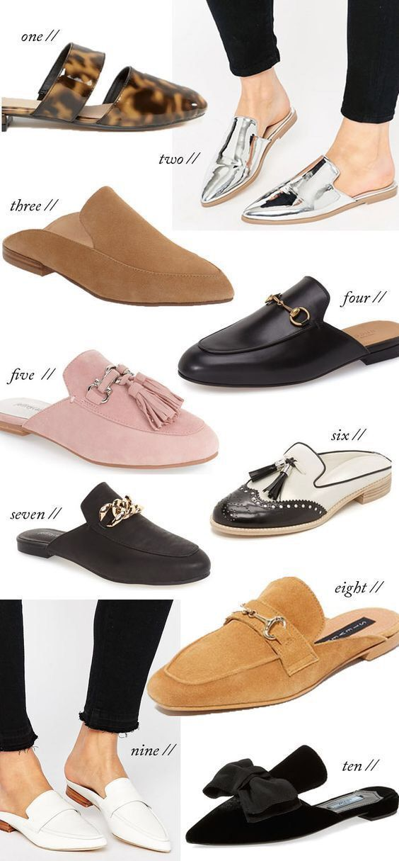011edef9be2 Types of flats Fall 2017 Shoe Trends, Fall 2017 Shoes, 2017 Style Trends,