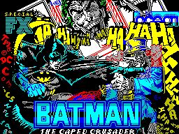 Batman - The Caped Crusader - Loading screen - ZX Spectrum