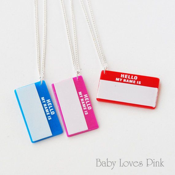 valentina name necklace