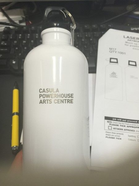 Bottle for Casula Powerhouse Art Centre