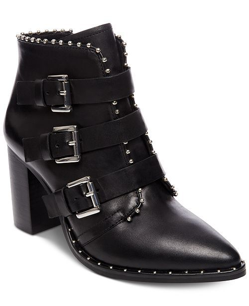 c50670f151d Steve Madden Women's Humble Studded Booties - Black 7.5M in 2018 | A ...