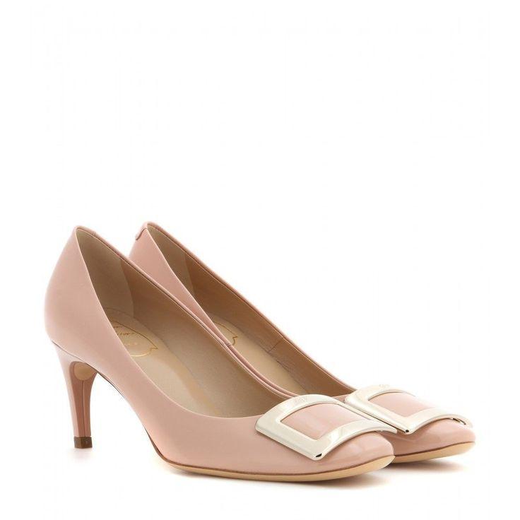 The bridal shoes - Roger Vivier Belle De Nuit patent leather pumps