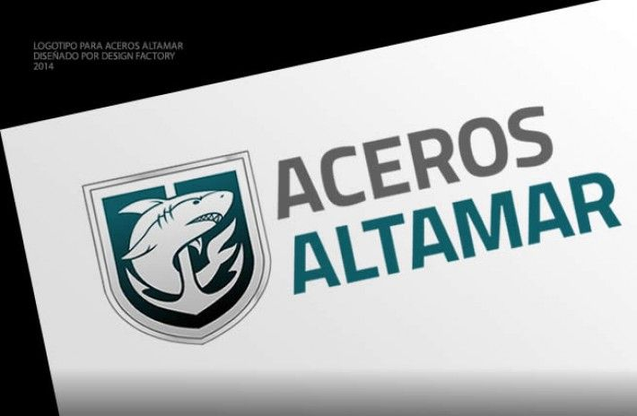 Logotipo para Aceros Altamar