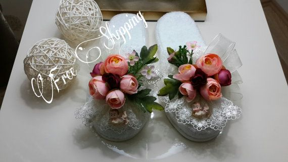 Hey, I found this really awesome Etsy listing at https://www.etsy.com/listing/226073588/brides-honeymoon-slippers-handmade