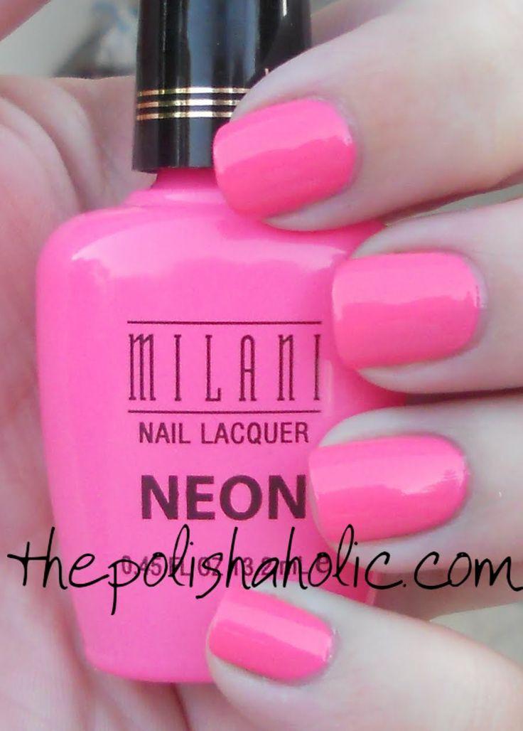 Great new summary of neon nail polish