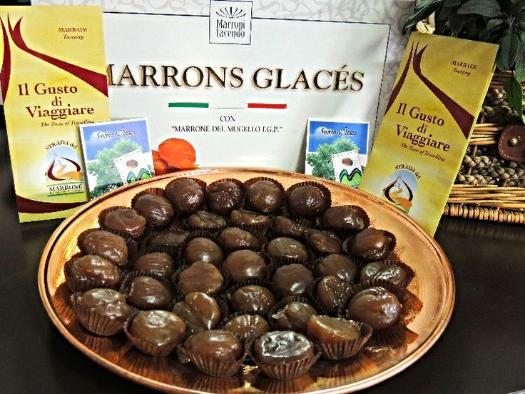 Marrons Glacés con marroni di Marradi