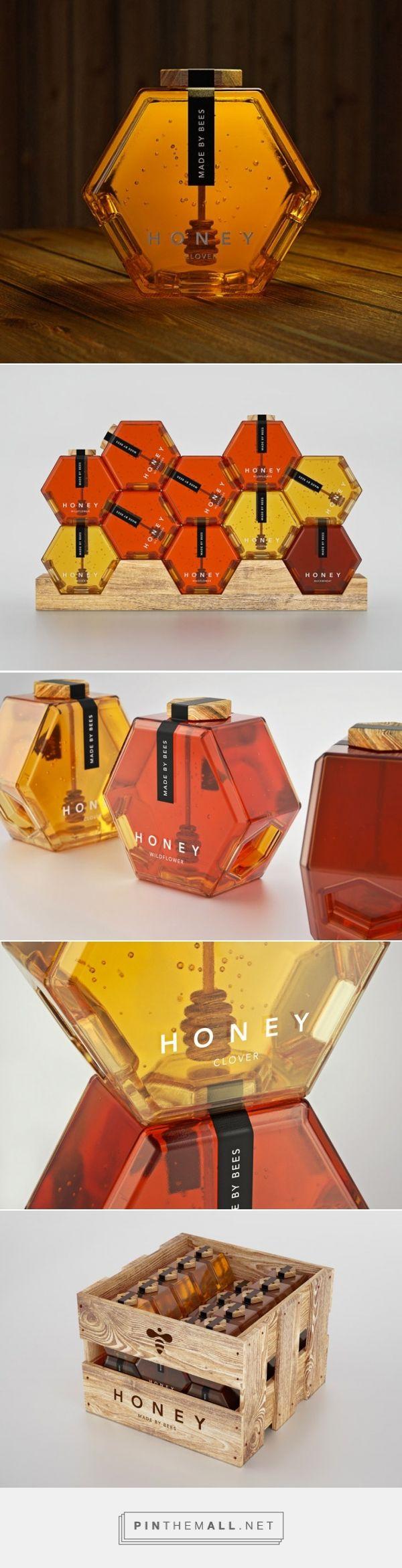 Conheça o melhor design de embalagem de mel da história: o Hexagon Honey! | Temporal Cerebral Design Blog - created via https://pinthemall.net