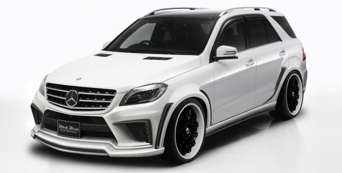 WALD W166 Mercedes M-Class Preview
