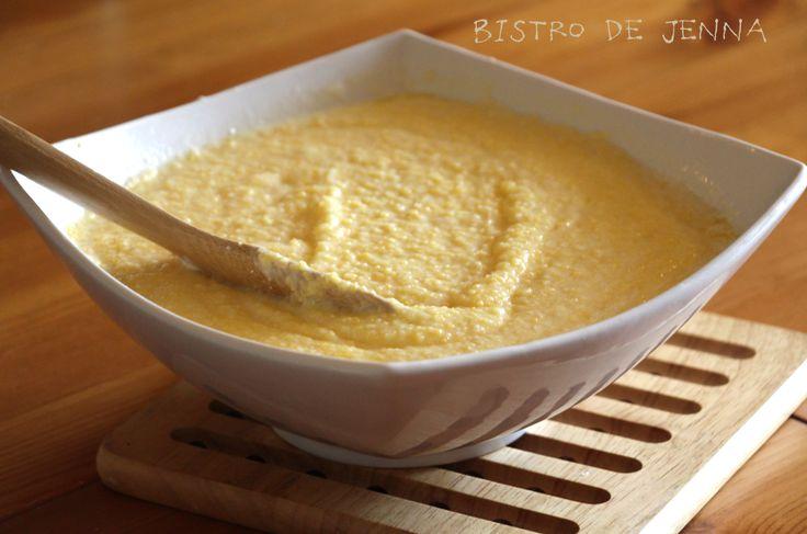 Polenta crémeuse au parmesan