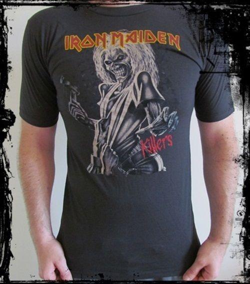 ***Retro Iron Maiden T-Shirt - New*** #Unbranded