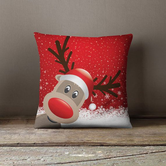 Rudolph the Red Nosed Reindeer  Cute Christmas by wfrancisdesign