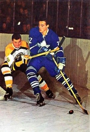 Ted Green - Boston, Frank Mahovlich - Toronto